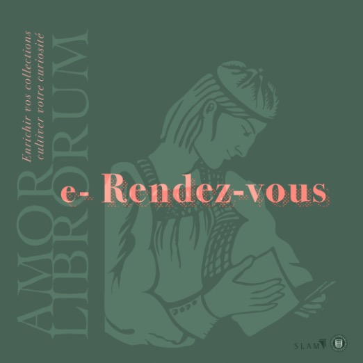 Your monthly e-rendez-vous Amor Librorum by SLAM