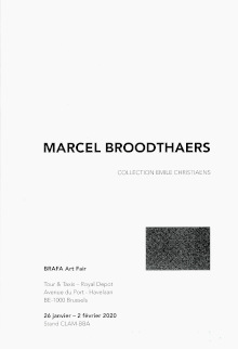 New catalogue of Librairie Dominique Basteyns